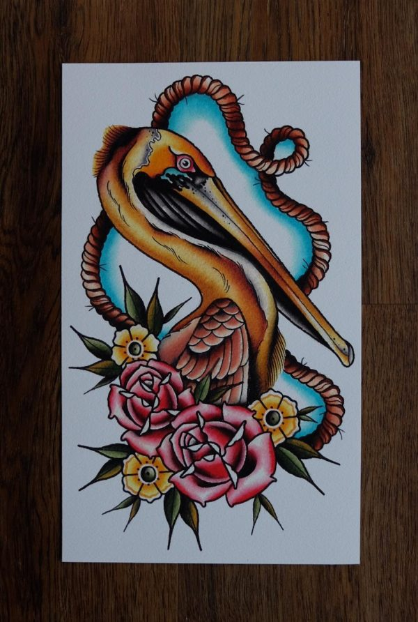 Bird by Nick Knatterton Print